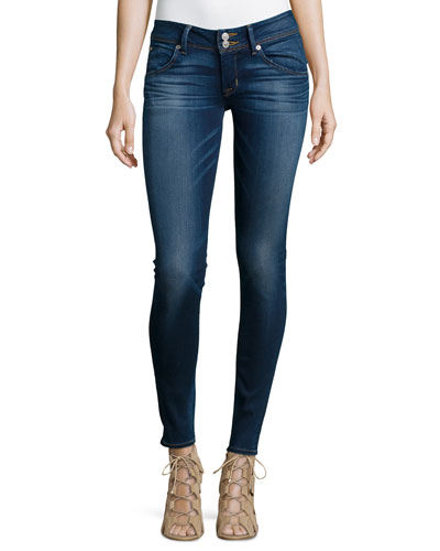 Collin Stretch Skinny Jeans, Blue Gold