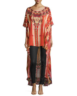 Arrows of the Loom High-Low Caftan