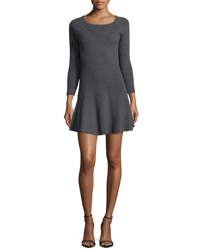 Didiere 3/4-Sleeve Dress