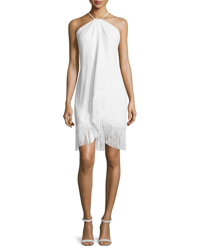Fringed Toga Cocktail Dress