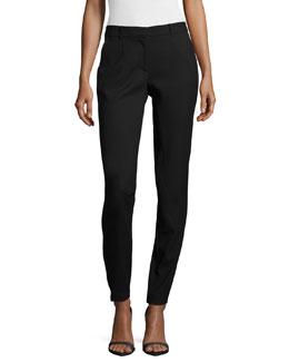Slim-Leg Pants W/ Patch Pockets