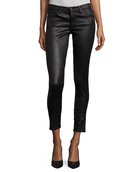 AG Legging Ankle Leatherette Light - Black
