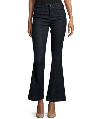 Janis High Waisted Petite Flare, Society