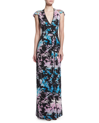 Floral Daze Maxi Wrap Dress