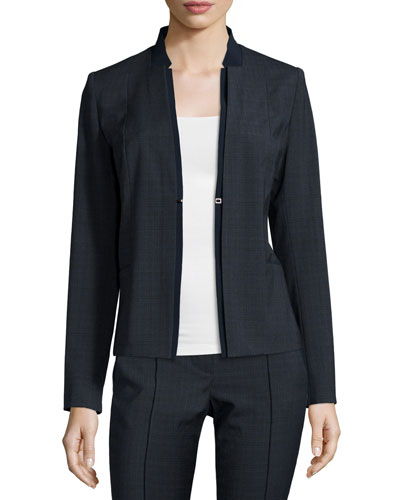 Ava Plaid Suiting Jacket