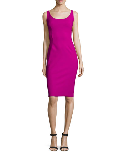 Nora Sleeveless Body-Conscious Dress