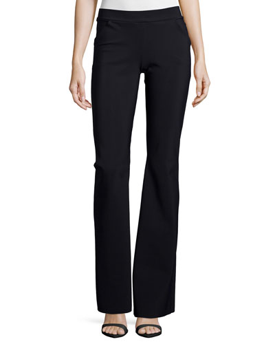 Venus Pull-On Boot-Cut Pants