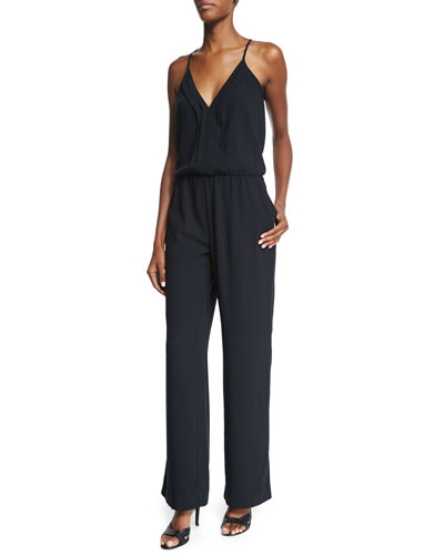 Beata V-Neck Jumpsuit