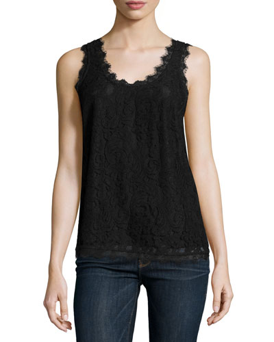 Brinx Lace Sleeveless Top