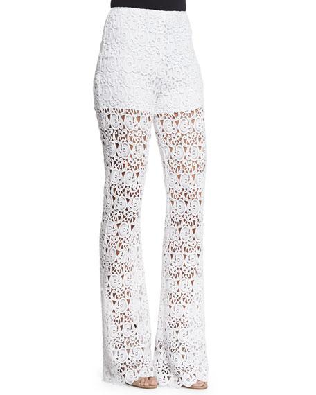 Kai Crocheted Lace Pants