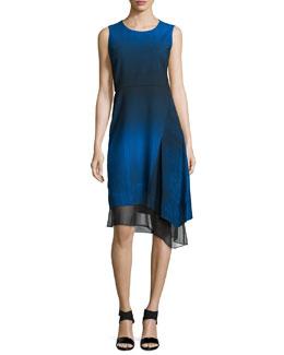 Clarissa Sleeveless Asymmetric Dress