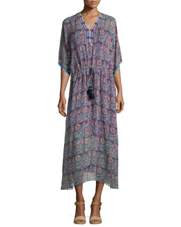 Calista Floral-Print Midi Dress, Modasa Floral