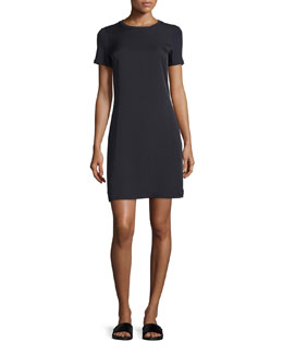 Niteda Short-Sleeve Shift Dress