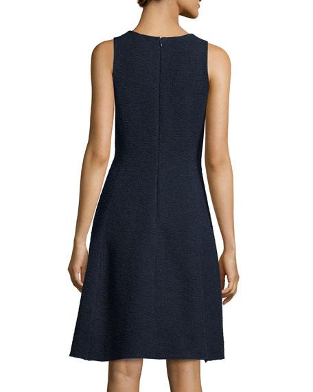 Udela Spring Tweed Sleeveless Dress