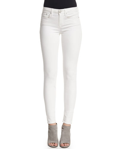 Riley Skinny Jeans, White