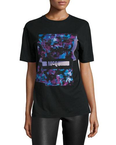 Classic Logo-Print T-Shirt, Black