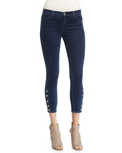 Suvi Skinny Cropped Jeans, Allegiance