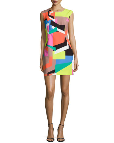 Graphic-Print Modern Dress