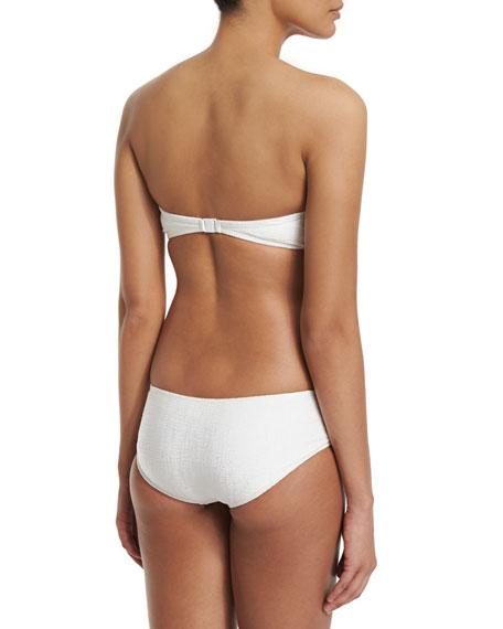 Rafia Bandeau Two-Piece Swimsuit