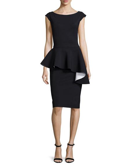 La Petite Robe di Chiara Boni Etheline Cap-Sleeve