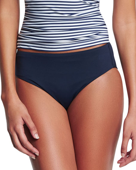 Retro Power Swim Bottom, Indigo