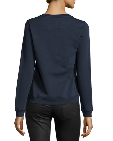 Classic Eye Sweatshirt, Midnight Blue