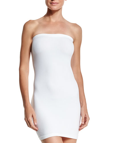 Essential Bandeau Strapless Mini Dress