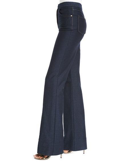 Debbie Flare Stretch Jeans, Indigo