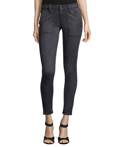 Cadet Skinny Ankle Pants, Stingray