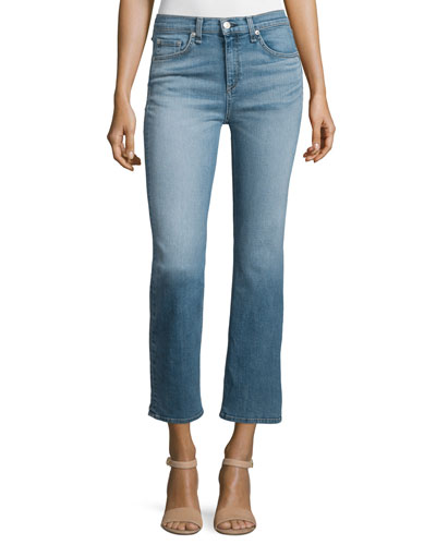Mid-Rise Cropped Jeans, Belgrave
