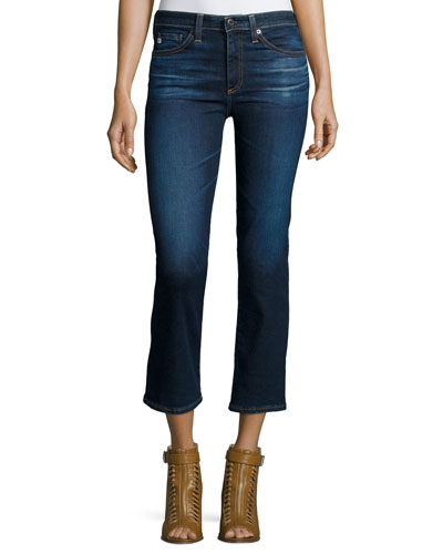 The Jodi Crop Flare-Leg Jeans, 2 Years Beginning