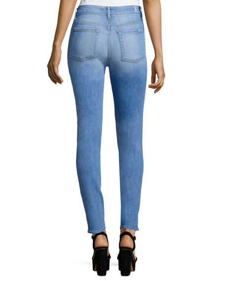 The High-Waist Skinny Jeans, Mediterranean Sky