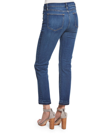 cropped straight-fit jeans - Blue Frame Denim oPOQ9Y7Iq