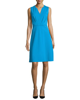 Elicia Sleeveless Dress, Voyage