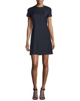 Jatinn Continuous Wool-Blend Shift Dress