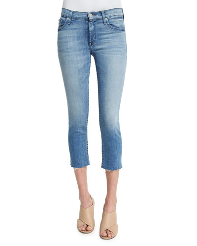 Fallon Skinny Cropped Jeans, Altair
