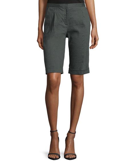 Tahari City Slim-Fit Bermuda Shorts