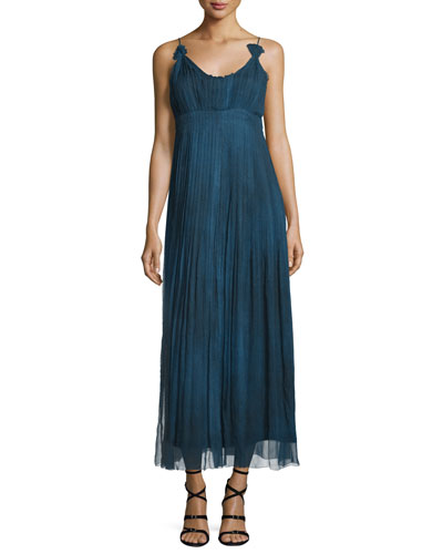 Opal Sleeveless Maxi Dress, Denim