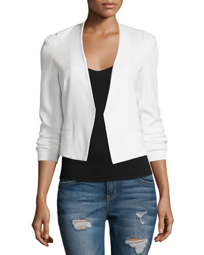 Refined Stretch Suit Jacket, Snow