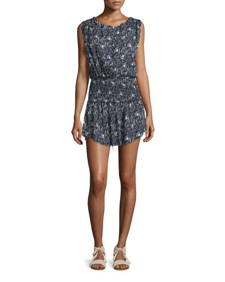 Mila Printed Cotton Dress