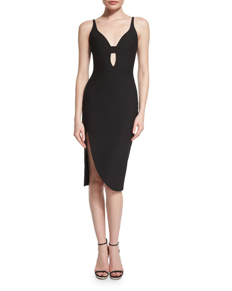 Myla Sleeveless Sheath Dress, Black