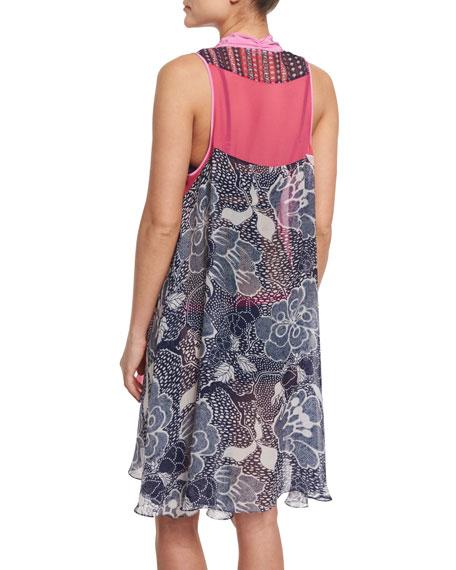 Lipari Printed Kimono Coverup