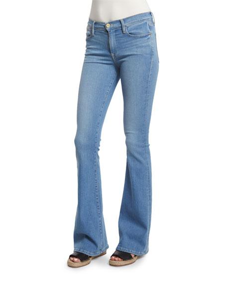 Le High Flare-Leg Jeans, Sunnyspot