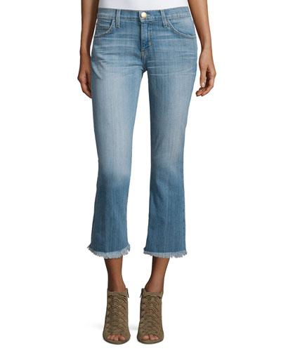 The Cropped Flip Flop Distressed Jeans, Ticker