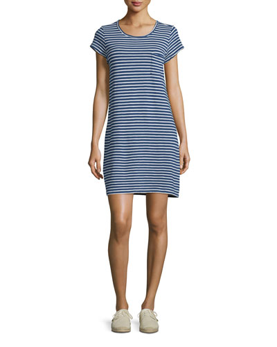 Courtina Striped T-Shirt Dress
