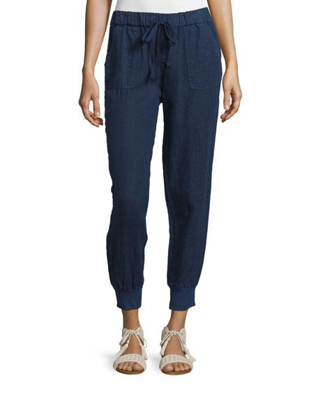 Stuva Drawstring Linen Pants