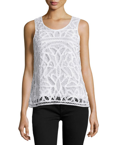 Bindi Crocheted Sleeveless Top
