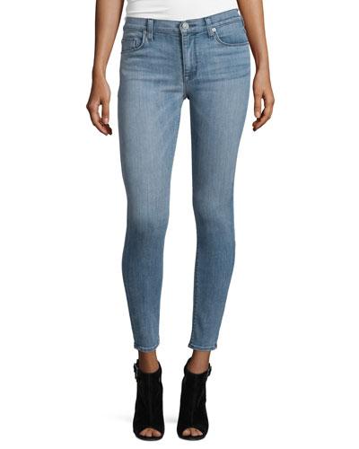 Barbara Super Skinny Ankle Jeans, Hideaway