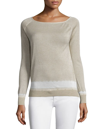 Ebliss D Sag Harbor Long-Sleeve Sweater