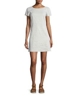 Jamelya Crunch Wash Short-Sleeve Dress